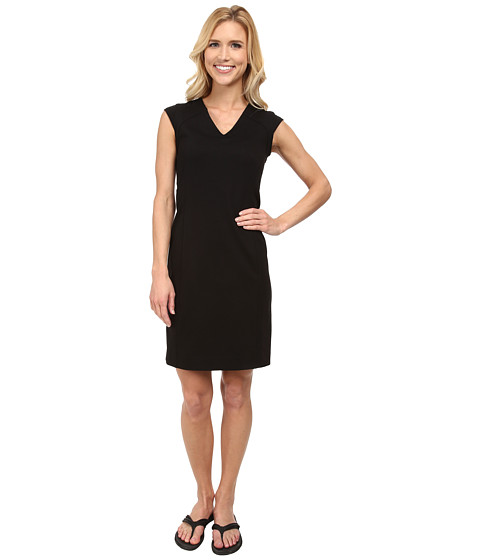 FIG Clothing - Tux Dress (Black) Women's Dress