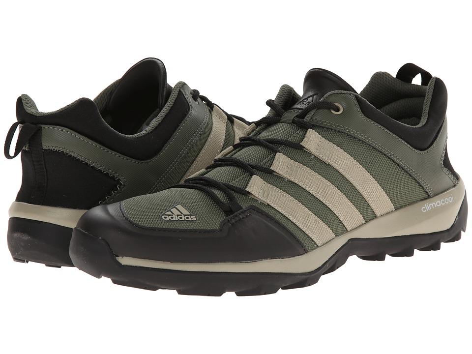 adidas Outdoor - Daroga Plus Canvas (Base Green/Tech Beige/Black) Men's Shoes