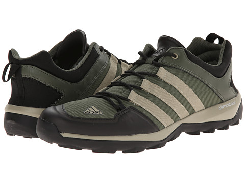 adidas Outdoor - Daroga Plus Canvas (Base Green/Tech Beige/Black) Men