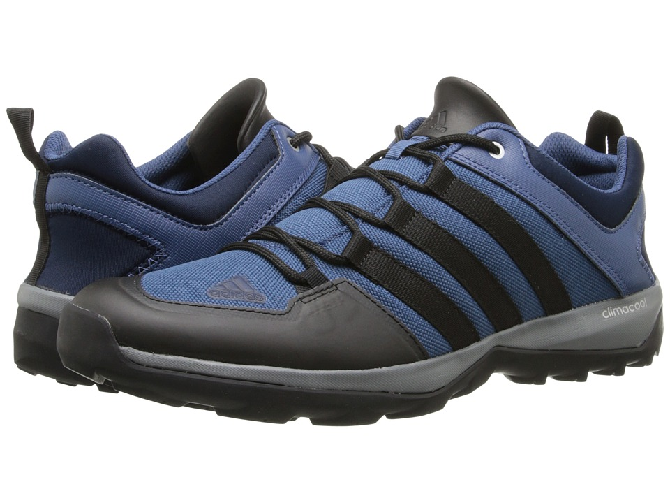 adidas Outdoor - Daroga Plus Canvas (Vista Blue/Black/Semi Solar Yellow) Men