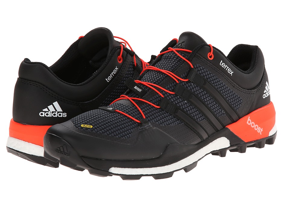 adidas Outdoor - Terrex Boost (Black/White/Solar Red) Men's Shoes
