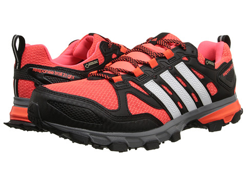 adidas Outdoor - Response Trail M 21 GTX (Black/White/Solar Red) Men