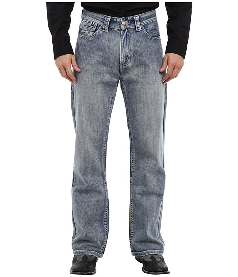 Rock and Roll Cowboy - Cannon Loose Fit in Medium Vintage (Medium Vintage) Men's Jeans
