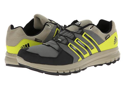 adidas Outdoor - Duramo Cross X GTX (Base Green/Black/Semi Solar Yellow) Men's Shoes