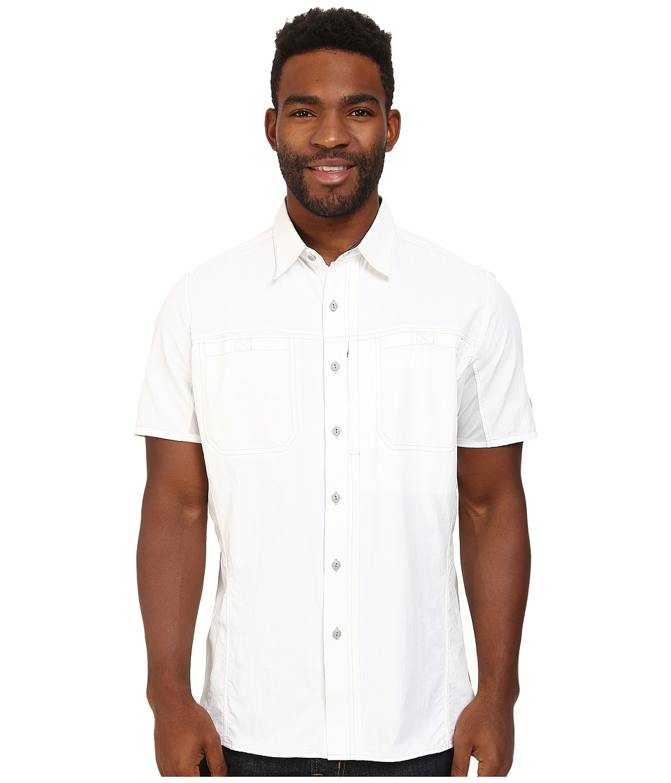 Kuhl - Wunderer SS (White) Men's Short Sleeve Button Up