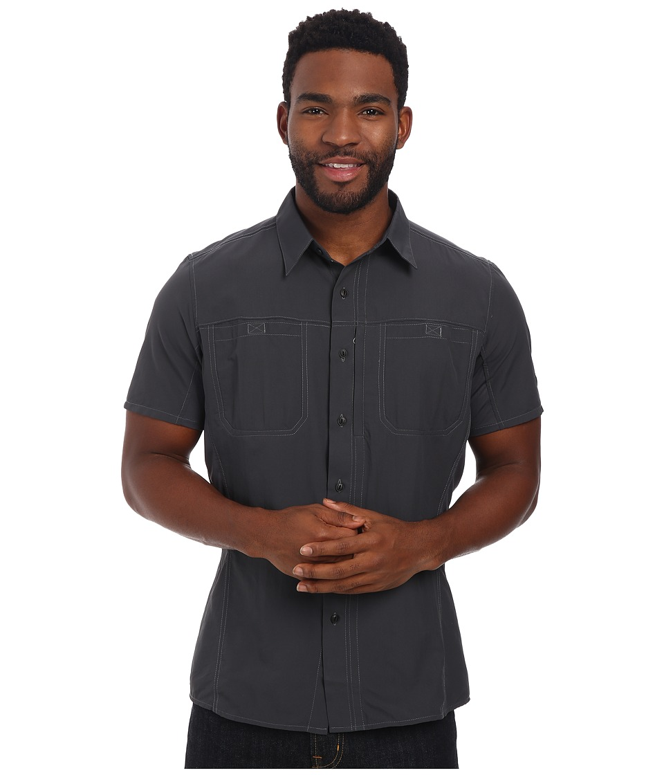 Kuhl - Wunderer SS (Carbon) Men's Short Sleeve Button Up