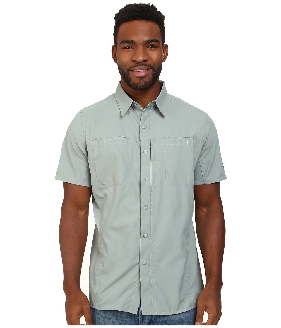 KUHL - Wunderer SS (Desert Sage) Men's Short Sleeve Button Up