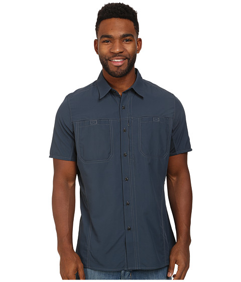 Kuhl - Wunderer SS (Pirate Blue) Men's Short Sleeve Button Up