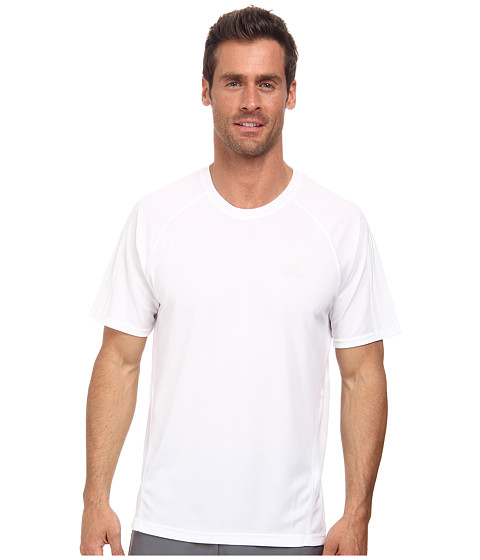 adidas Outdoor - Terrex Swift Drydye Tee (White) Men's T Shirt