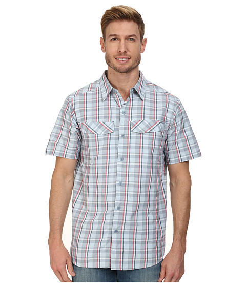 Columbia - Silver Ridge Multi Plaid S/S Shirt (Whale Plain Weave) Men