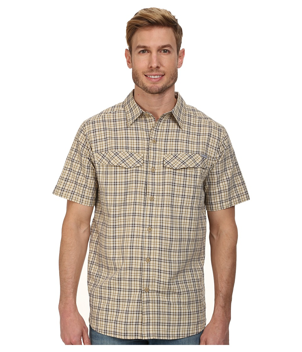 Columbia - Silver Ridge Multi Plaid S/S Shirt (Crouton Ripstop) Men's Short Sleeve Button Up