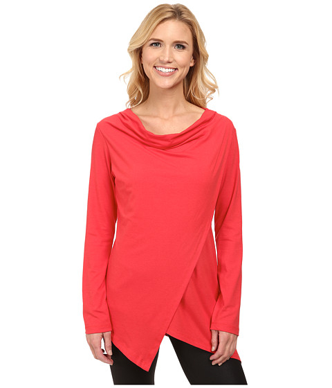 FIG Clothing - Pai Top (Rooibos) Women's Long Sleeve Pullover