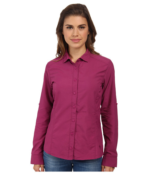 Mountain Hardwear - Canyon L/S Shirt (Red Plum) Women