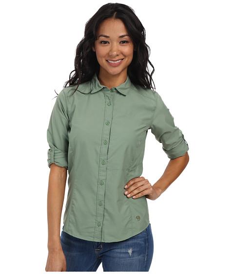 Mountain Hardwear - Canyon L/S Shirt (Verde) Women