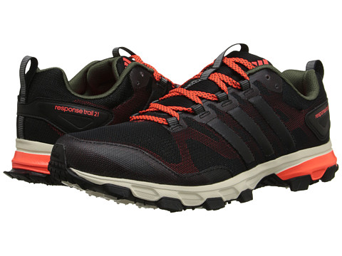 adidas Outdoor - Response Trail 21 M (Black/Solar Red/Base Green) Men's Cross Training Shoes