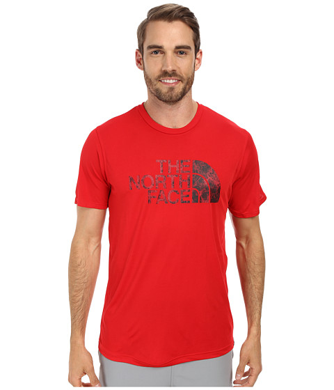 The North Face - Short Sleeve Cobalt FlashDry Crew (TNF Red) Men