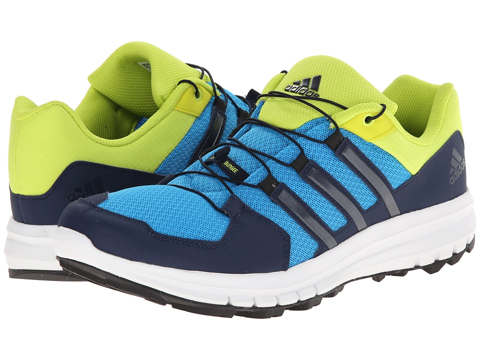 adidas Outdoor - Duramo Cross Trail M (Solar Blue/Col. Navy/Semi Solar Yellow) Men's Shoes