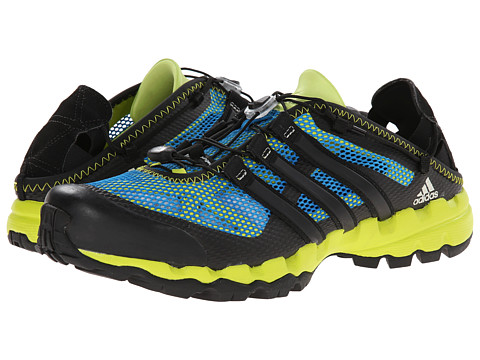 adidas Outdoor - Hydroterra Shandal (Solar Blue/Black/Semi Solar Yellow) Men