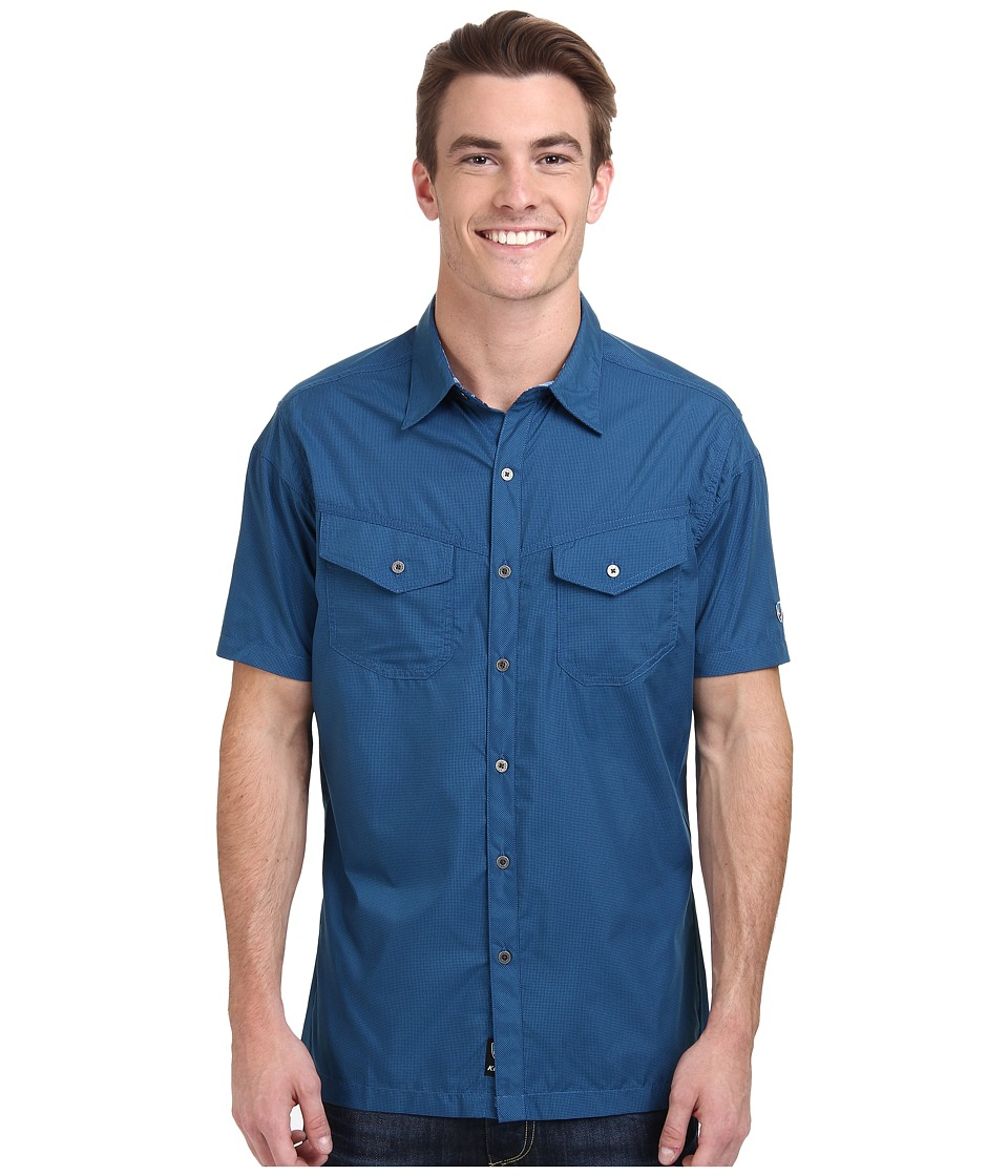 KUHL - Stealth (Lake Blue) Men's Short Sleeve Button Up