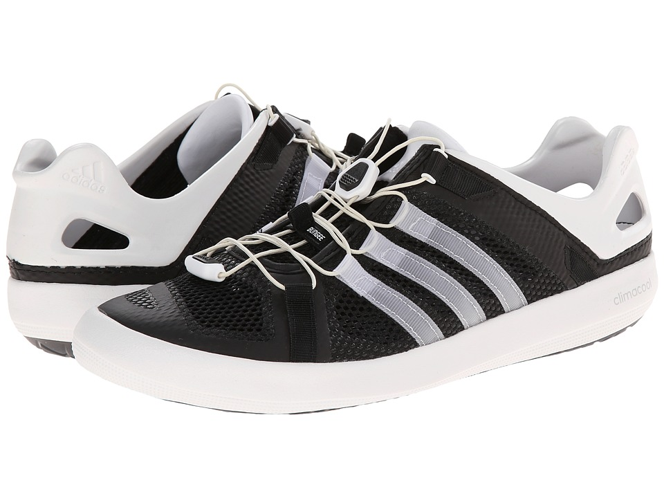 adidas Outdoor - Climacool Boat Breeze (Black/White/Black) Men