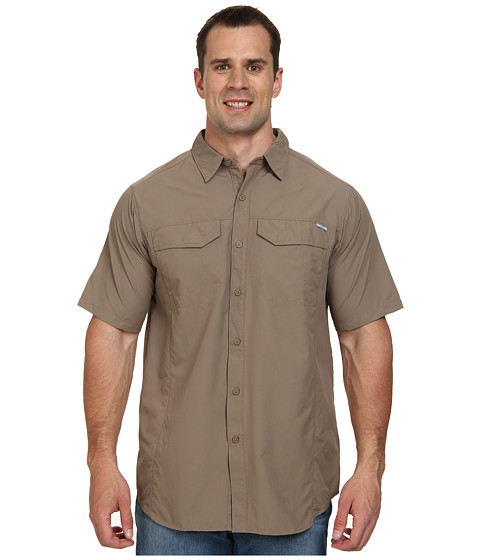 Columbia - Silver Ridge S/S Shirt - Tall (Wet Sand) Men