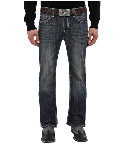 Rock and Roll Cowboy - Pistol Regular Fit in Medium Vintage (Medium Vintage) Men's Jeans