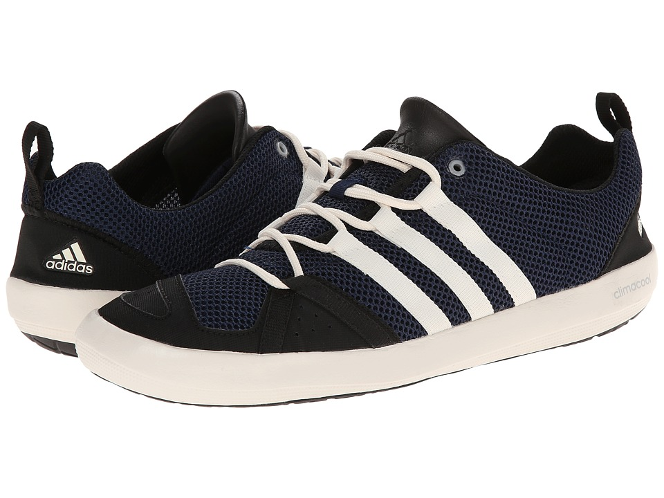 adidas Outdoor - Climacool Boat Lace (Col. Navy/Chalk White/Black) Men's Shoes