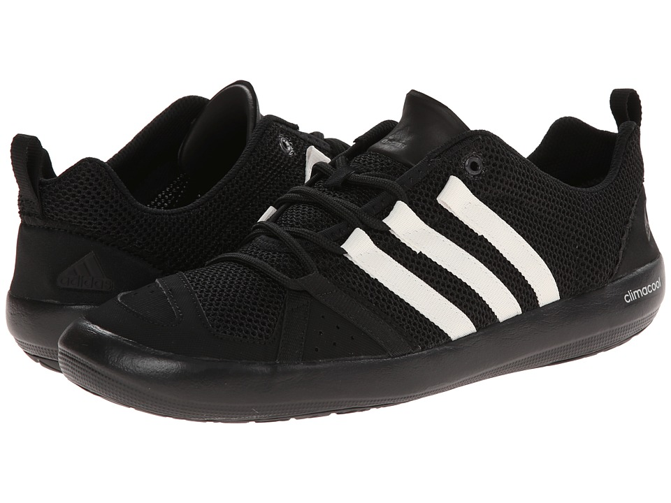 adidas Outdoor Climacool Boat Lace (Black/Chalk White/Silver Metallic) Men