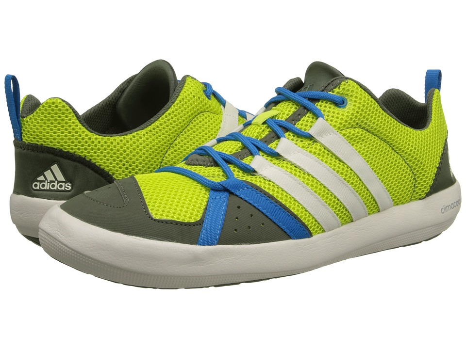 adidas Outdoor - Climacool Boat Lace (Semi Solar Yellow/Chalk White/Base Green) Men's Shoes