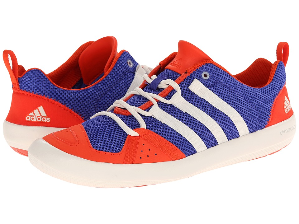 adidas Outdoor - Climacool Boat Lace (Night Flash/Chalk White/Bold Orange) Men's Shoes
