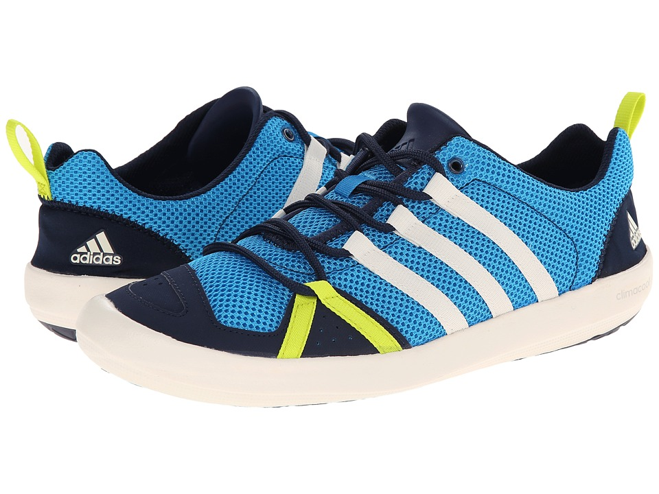 adidas Outdoor - Climacool Boat Lace (Solar Blue/Chalk White/Col. Navy) Men's Shoes