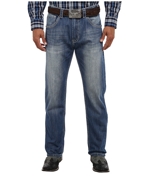 Rock and Roll Cowboy - Tuf Cooper Fit in Medium Wash (Medium Wash) Men's Jeans