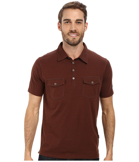 Kuhl - Razr S/S Shirt (Brick) Men's Short Sleeve Pullover