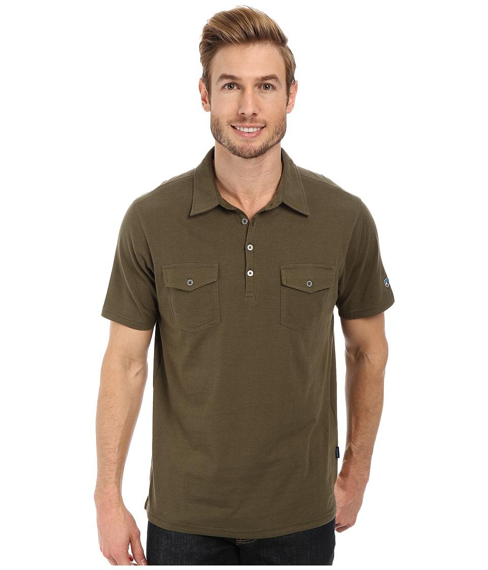 Kuhl - Razr S/S Shirt (Olive) Men's Short Sleeve Pullover