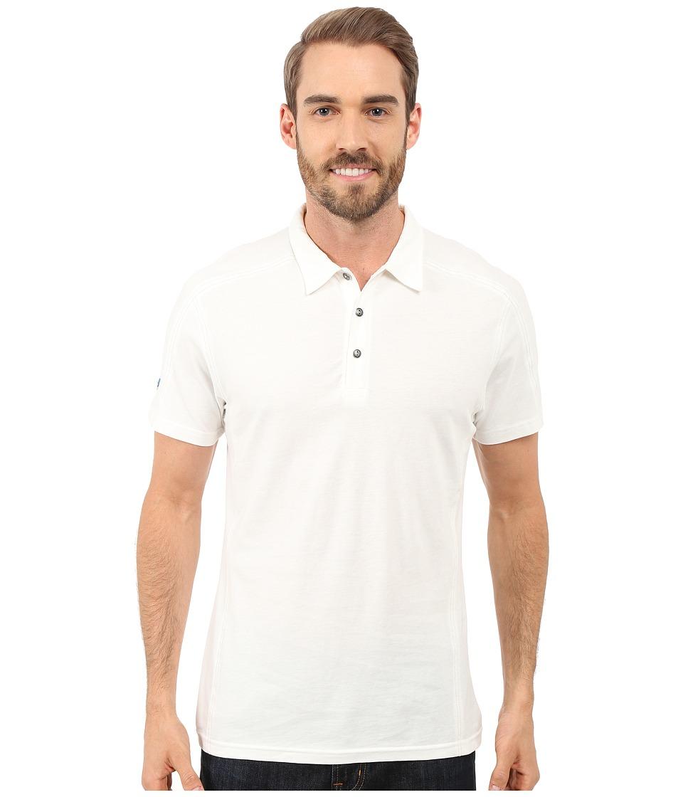 Kuhl - Skor S/S Shirt (White) Men's Short Sleeve Pullover