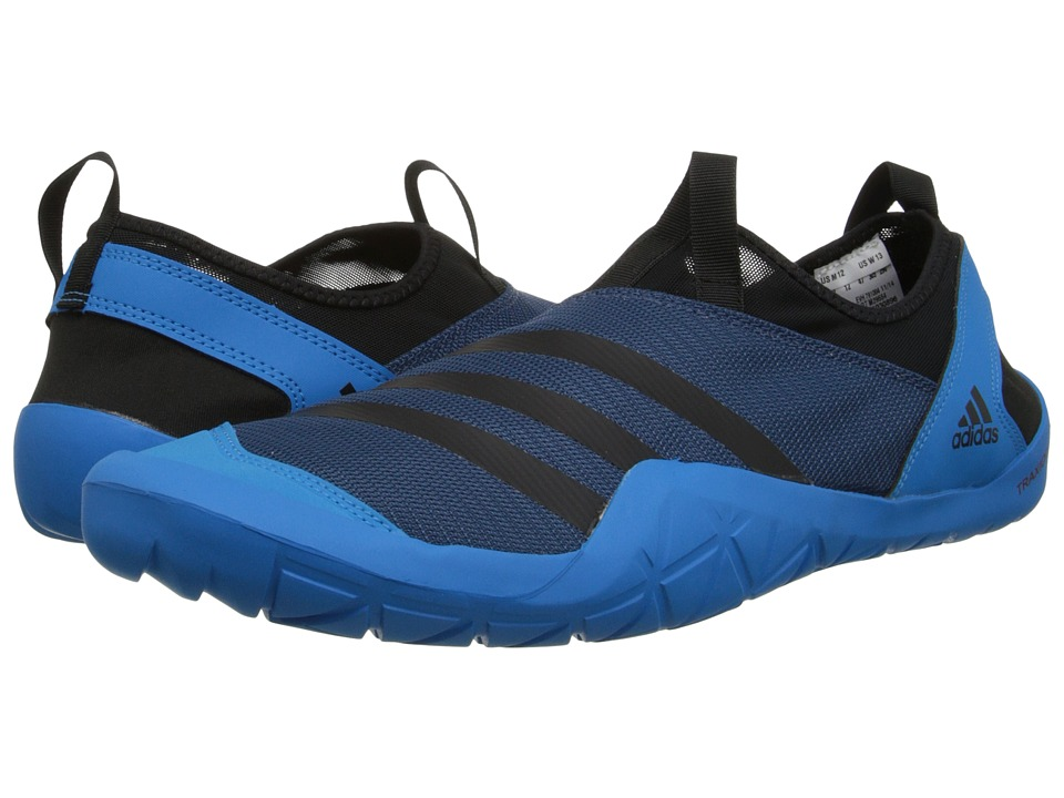 adidas Outdoor - CLIMACOOL Jawpaw Slip-On (Vista Blue/Black/Solar Blue) Men's Shoes