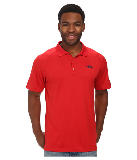 The North Face - Short Sleeve Horizon Polo (TNF Red) Men