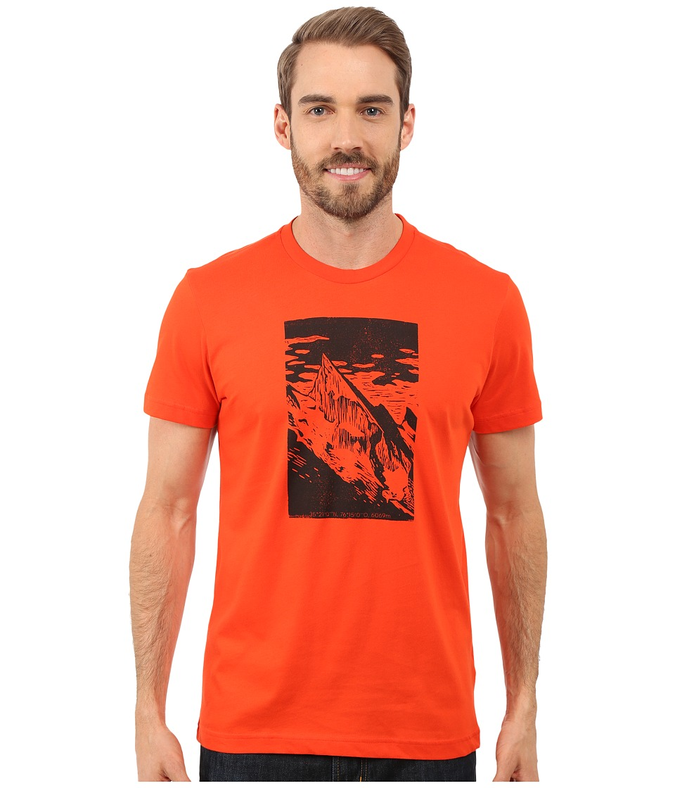 adidas Outdoor - Hiking Mountain Tee (Bold Orange) Men's T Shirt