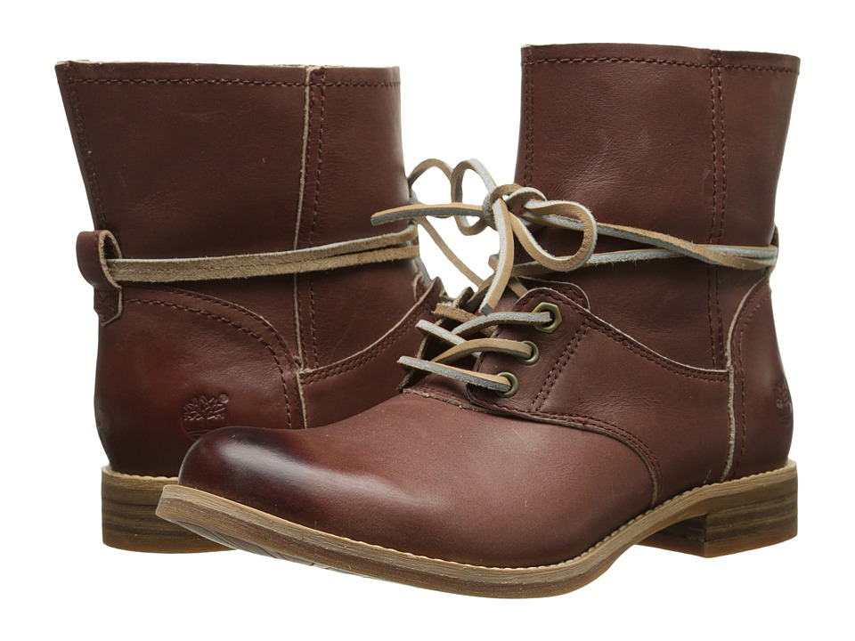Timberland - Earthkeeper Savin Hill Lace Ankle Boot (Light Brown Dry Gulch) Women