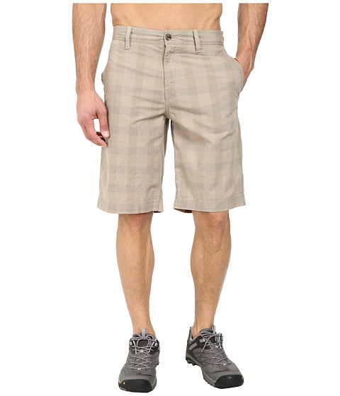 The North Face - Alderson Plaid Short (Dune Beige) Men's Shorts