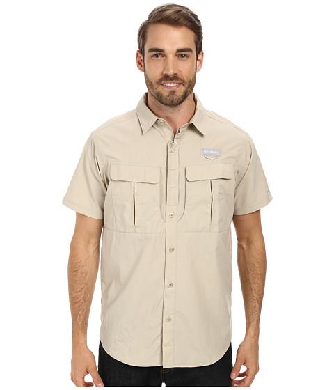 Columbia - Cascades Explorer S/S Shirt (Fossil) Men