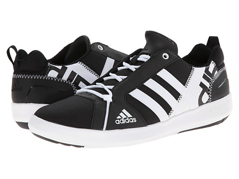 adidas Outdoor - Boat Lace DLX (Black/White/Black) Men