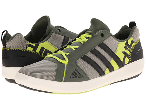 adidas Outdoor - Boat Lace DLX (Tech Beige/Black/Semi Solar Yellow) Men