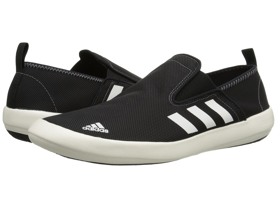 adidas Outdoor - Boat Slip-On DLX (Core Black/Chalk White/Vista Grey) Men's Shoes