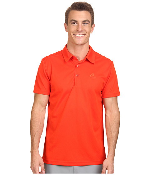 adidas Outdoor - Hiking Polo (Bold Orange) Men