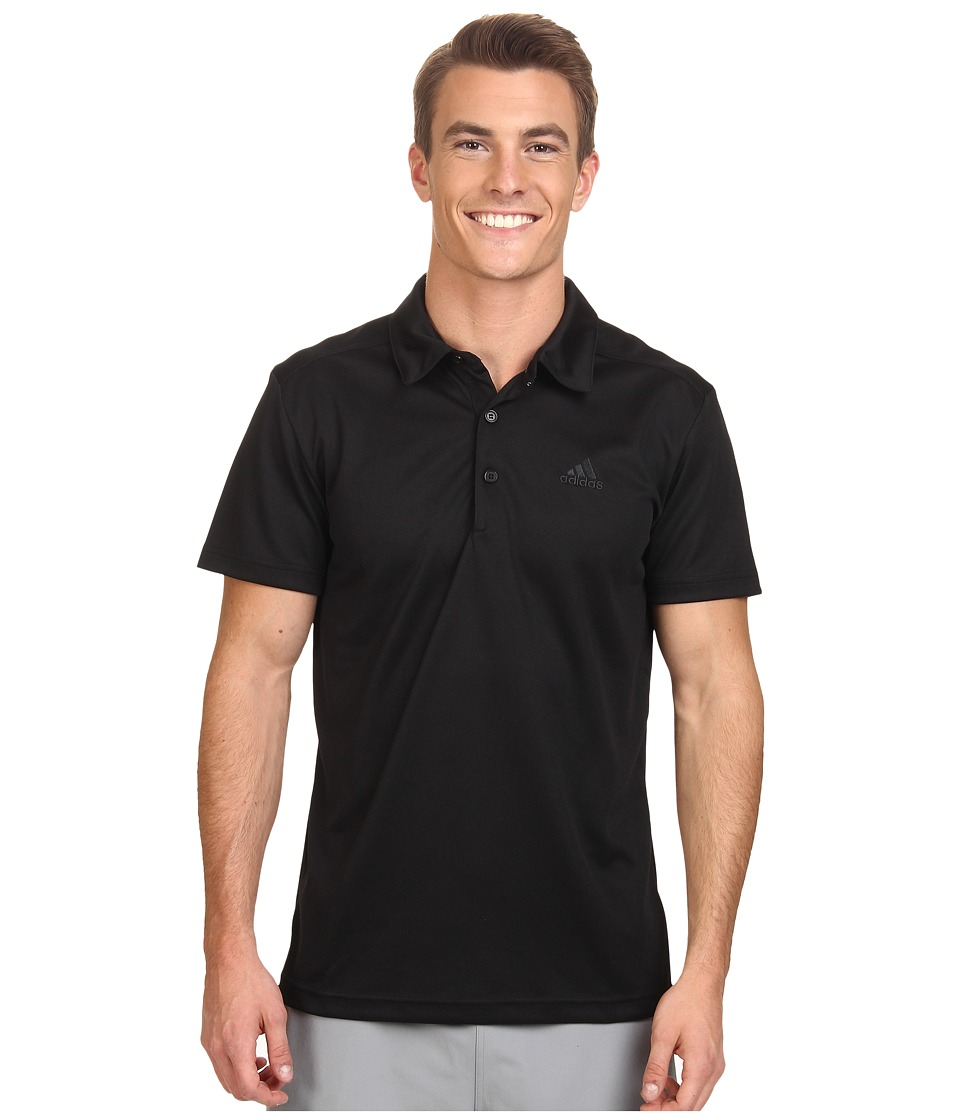 adidas Outdoor - Hiking Polo (Black) Men's Short Sleeve Pullover