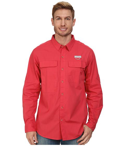 Columbia - Trailhead L/S Shirt (Sunset Red) Men