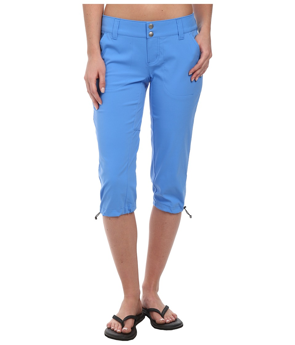 Columbia - Saturday Trail II Knee Pant (Harbor Blue) Women's Capri