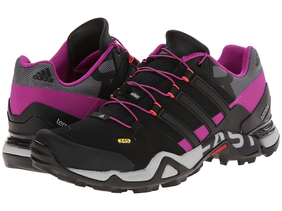adidas Outdoor - Terrex Fast R W (Lucky Blue/Black/Flash Pink) Women