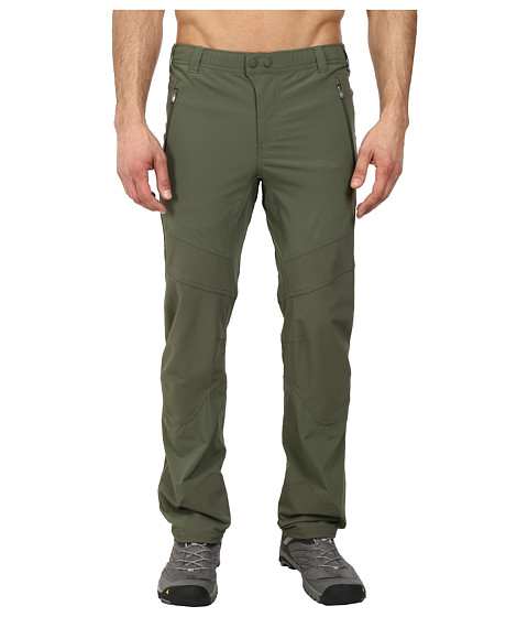 adidas Outdoor - Terrex Mountain Pants (Base Green) Men's Casual Pants